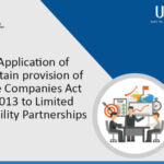 Provision of the Companies Act 2013 to Limited Liability Partnerships