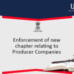 Chapter XXIA and insertion of Rules governing Producer Companies