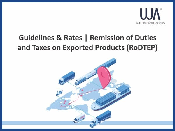 Remission of duties and taxes on exported products