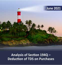 Analysis of Section 194Q TDS on purchases