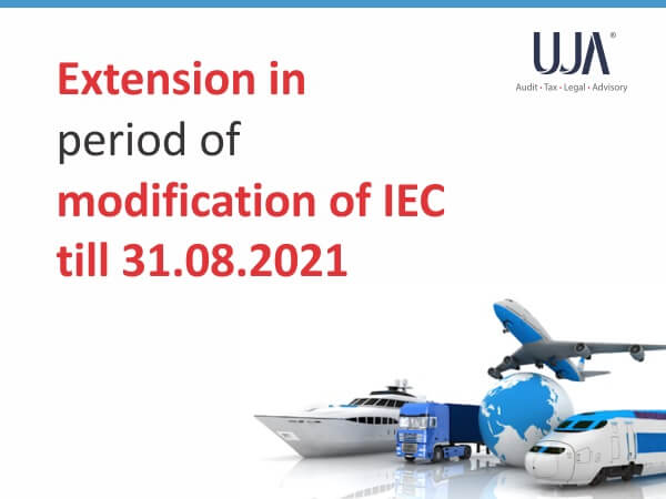 Extension in period of modification of IEC