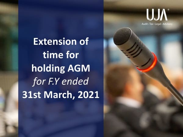 Extension of time for holding AGM